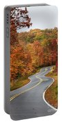 Fall Mountain Road Portable Battery Charger