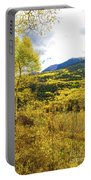 Fall Mountain Scenery Portable Battery Charger