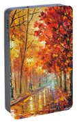 Fall Night Portable Battery Charger