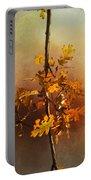 Fall Oak Leaves Portable Battery Charger