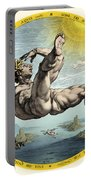 Fall Of Icarus, Greek Mythology Portable Battery Charger