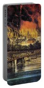 Fall Of Richmond, 1865 Portable Battery Charger