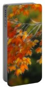 Fall Orange Portable Battery Charger