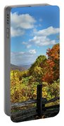 Fall Overlook Portable Battery Charger