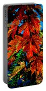 Fall Reds Portable Battery Charger