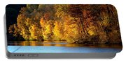 Fall Reflections Of Indiana Portable Battery Charger