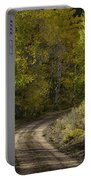 Fall Roads Portable Battery Charger