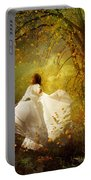 Fall Splendor Portable Battery Charger by Mary Hood