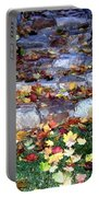 Fall Stairway Portable Battery Charger