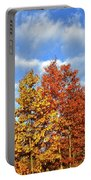 Fall Sunrise On Hackmatack Nwr Oaks Portable Battery Charger