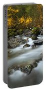 Fall Surge Portable Battery Charger by Mike  Dawson