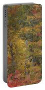 Fall Tapestry Portable Battery Charger