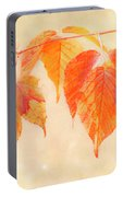 Fall Together Portable Battery Charger