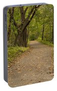 Fall Trail Scene 45 A Portable Battery Charger