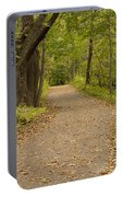 Fall Trail Scene 45 B Portable Battery Charger