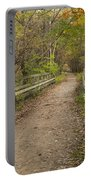Fall Trail Scene 47 B Portable Battery Charger