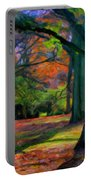 Fall Woods Portable Battery Charger