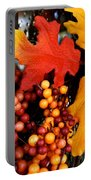 Fall Wreath Portable Battery Charger