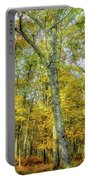Fall Yellow Portable Battery Charger