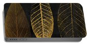 Fallen Gold II Autumn Leaves Portable Battery Charger