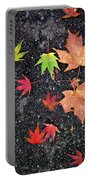 Fallen Leaves 4 Portable Battery Charger