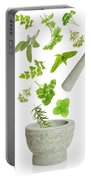 Falling Herbs Portable Battery Charger