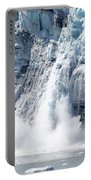 Falling Ice In Alaska Portable Battery Charger
