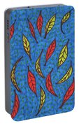 Falling Leaves Portable Battery Charger