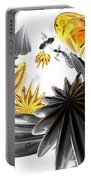 Falling Stars Abstract Portable Battery Charger