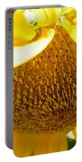 Falling Sunflower Portable Battery Charger