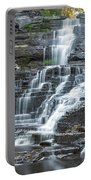 Falls Creek Gorge Trail Ithaca New York Portable Battery Charger
