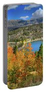 Fall's Finery At Rock Creek Lake Portable Battery Charger