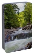 Falls In The Mountains Portable Battery Charger