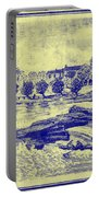 Falls Of The Schuylkill And Fort St Davids 1794 Portable Battery Charger
