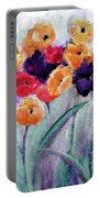 Family Gathering Painting By Lisa Kaiser Portable Battery Charger