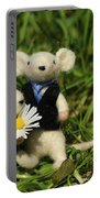 Family Mouse On The Spring Meadow .1. Portable Battery Charger