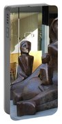 Family Sculpture Portable Battery Charger