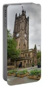 Famous Cathedral Of Manchester City In  Uk Portable Battery Charger
