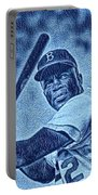 Famous Jackie Robinson Portable Battery Charger