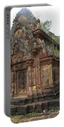 Famous Temple Banteay Srei Cambodia Asia  Portable Battery Charger