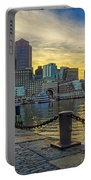 Fan Pier Boston Harbor Portable Battery Charger