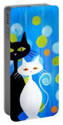 Fancy Cats Portable Battery Charger