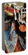 Pow Wow Fancy Dancer 1 Portable Battery Charger
