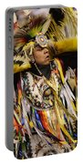 Pow Wow Fancy Dancer 2 Portable Battery Charger