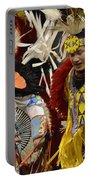 Pow Wow Fancy Dancers 7 Portable Battery Charger