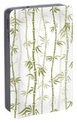 Fancy Japanese Bamboo Watercolor Painting Portable Battery Charger