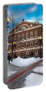 Faneuil Hall Winter Portable Battery Charger