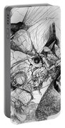 Fantasy Drawing 1 Portable Battery Charger