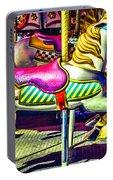 Fantasy Fair Horse Ride Portable Battery Charger