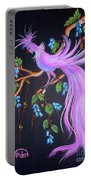 Fantasy Feather Bird Portable Battery Charger
